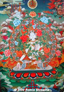 White Tara © 2000 Romio Shrestha